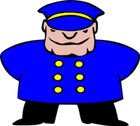 police-man-standing-smiling-12425-svg