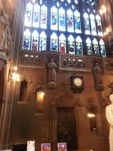 John Rylands Stained Glass Window