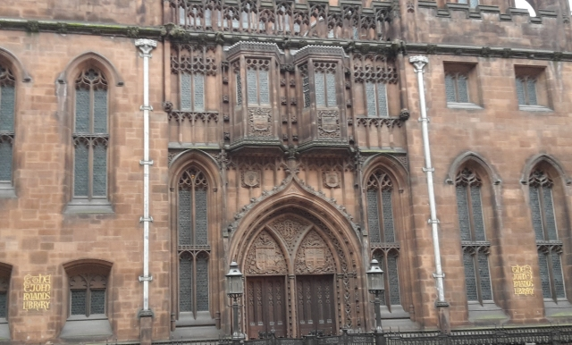 John Rylands Front Entrance