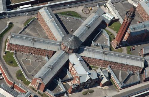 Strangeways Aerial View