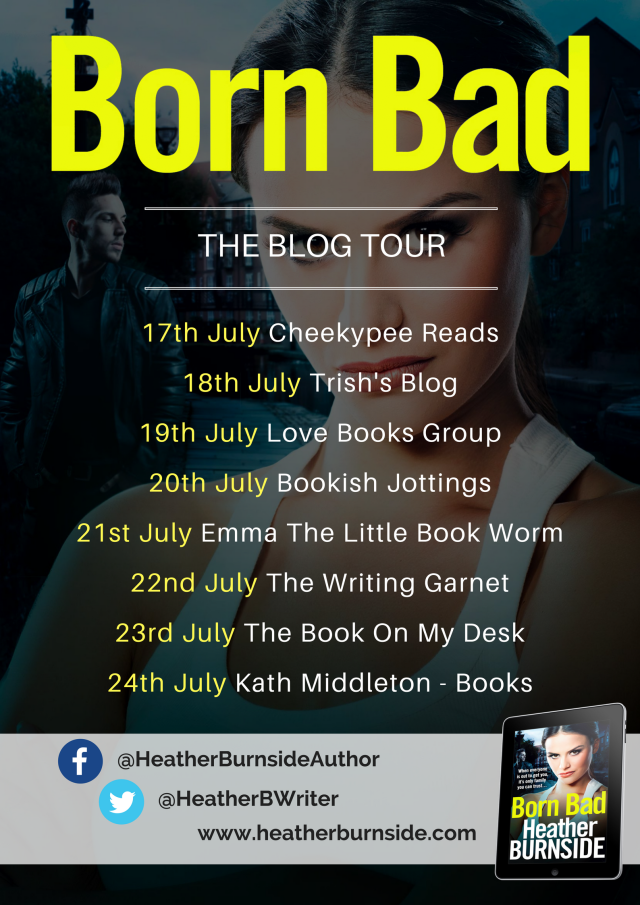 Born Bad - blog tour banner