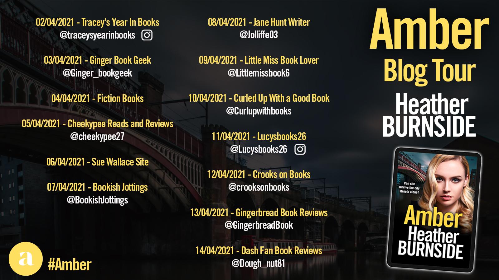 Amber Blog Tour Poster